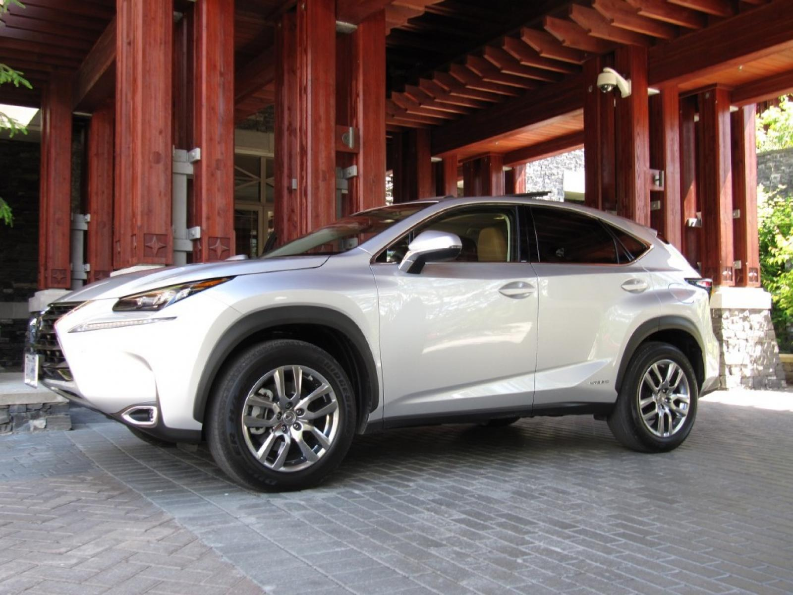 2015 lexus nx 300h - information and photos - zombiedrive