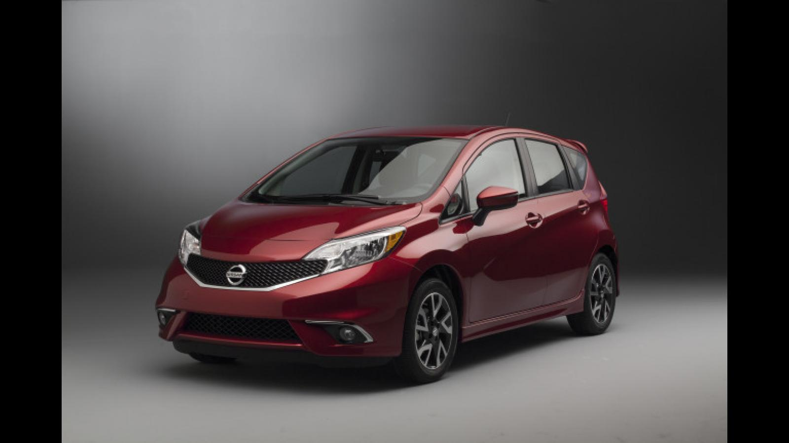 2015 nissan versa note information and photos zomb drive. Black Bedroom Furniture Sets. Home Design Ideas