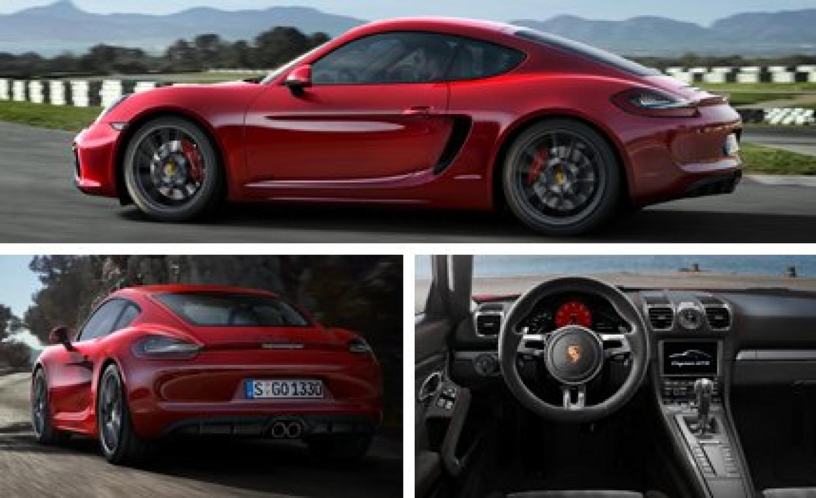 2015 porsche cayman - information and photos - zombiedrive