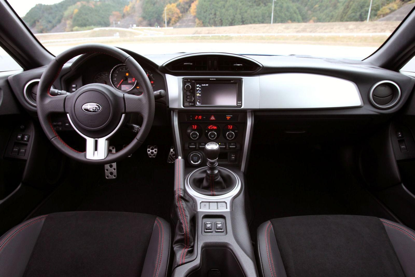 Subaru brz 2015 interior