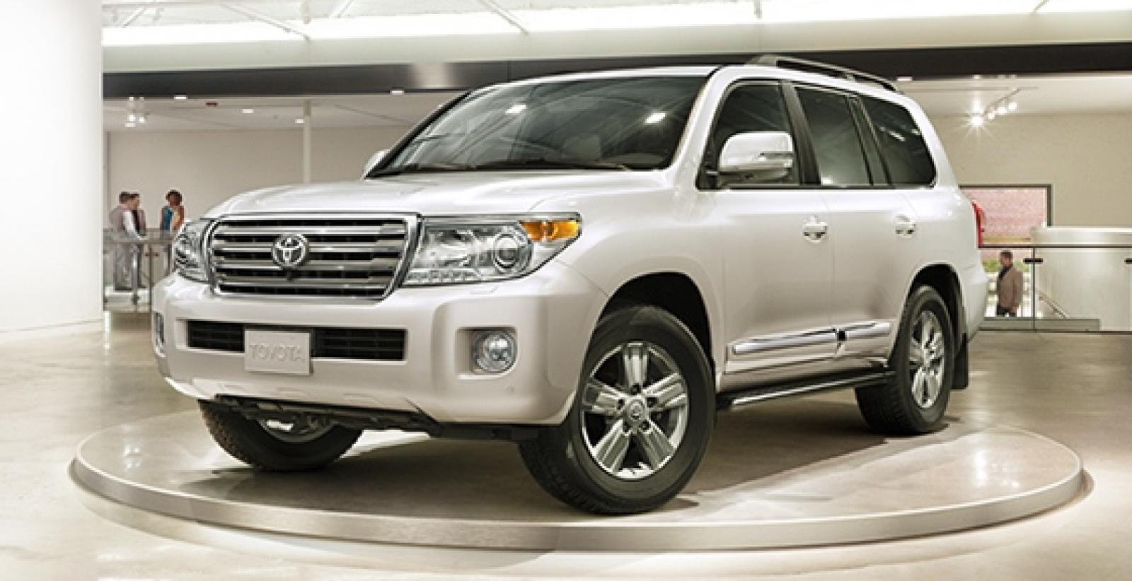 2015 toyota land cruiser information and photos. Black Bedroom Furniture Sets. Home Design Ideas