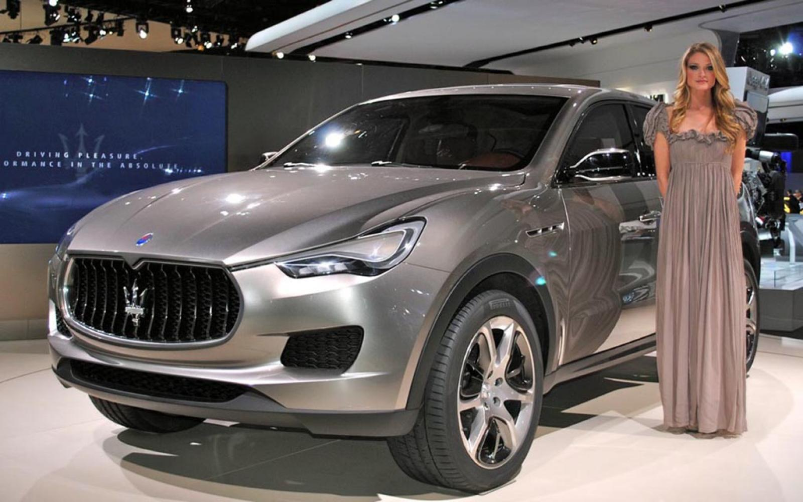 2016 maserati levante information and photos zombiedrive. Black Bedroom Furniture Sets. Home Design Ideas