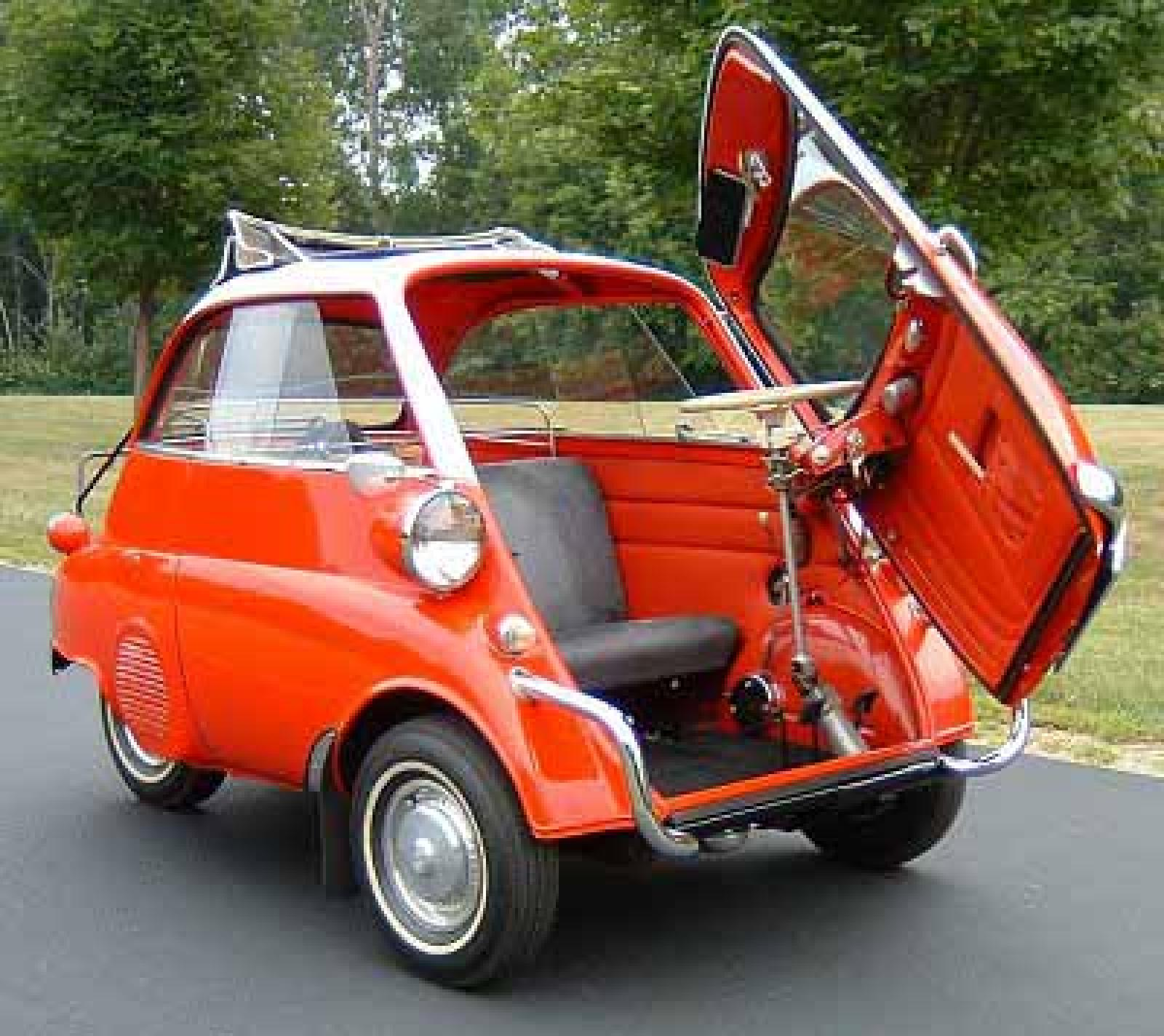 a bubble bmw isetta car busts a move. Black Bedroom Furniture Sets. Home Design Ideas