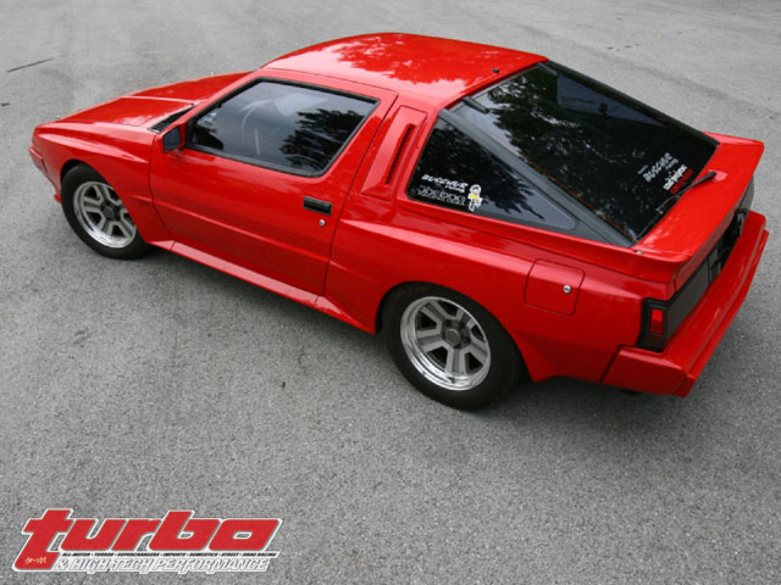 Dodge Conquest Built To Be A Conqueror 1600px Image 2 Mitsubishi Starion