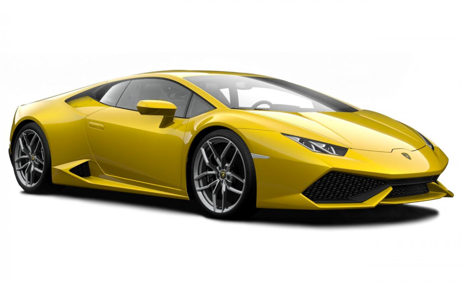 Yellow Lamborghini Png