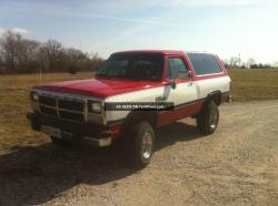 1991 Dodge Ramcharger #8