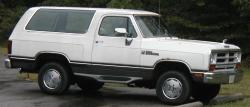 1991 Dodge Ramcharger #7