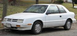 1991 Dodge Shadow #3