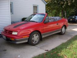 1991 Dodge Shadow