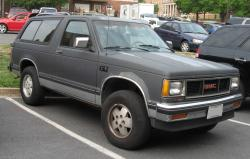 1991 GMC Jimmy #6