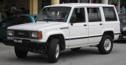 1991 Isuzu Trooper #8