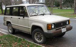 1991 Isuzu Trooper #7