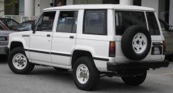 1991 Isuzu Trooper #4