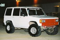 1991 Isuzu Trooper #9