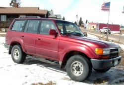 1991 Toyota Land Cruiser #4