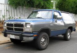 1992 Dodge Ramcharger #2