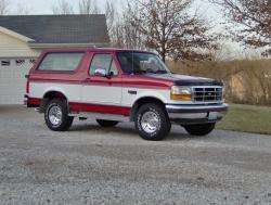 1995 Ford Bronco #5