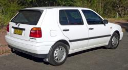 1996 Volkswagen Golf #9