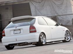 1998 Honda Civic #9