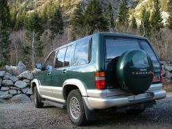 1999 Isuzu Trooper #13