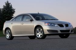 Safety and security features of 2010 Pontiac G6