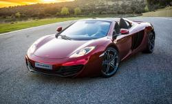 2013 McLaren MP4-12C Spider- stunning color and features