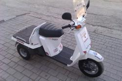 Honda Gyro, hi-tech Innovation On Japanese Streets