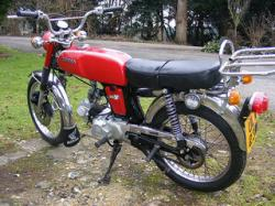 Honda SS50 reduces the distance in a matter of seconds