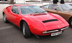 The Batman's Car of maserati Merak