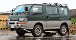 Exploration of lonesome deserts on Mitsubishi Delica