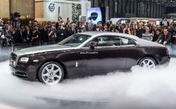 Getting in troubles with Rolls-Royce Wraith