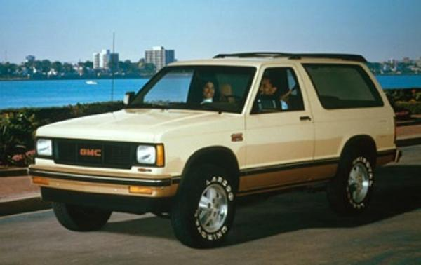 1990 GMC S-15 Jimmy #1
