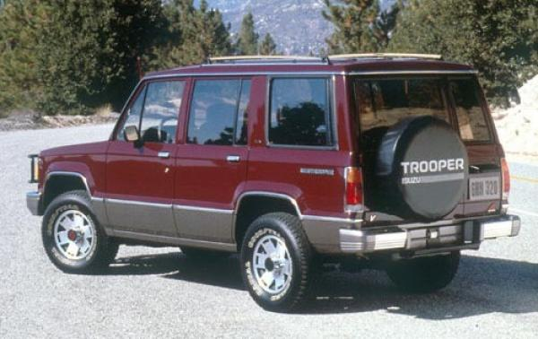 1990 Isuzu Trooper #1