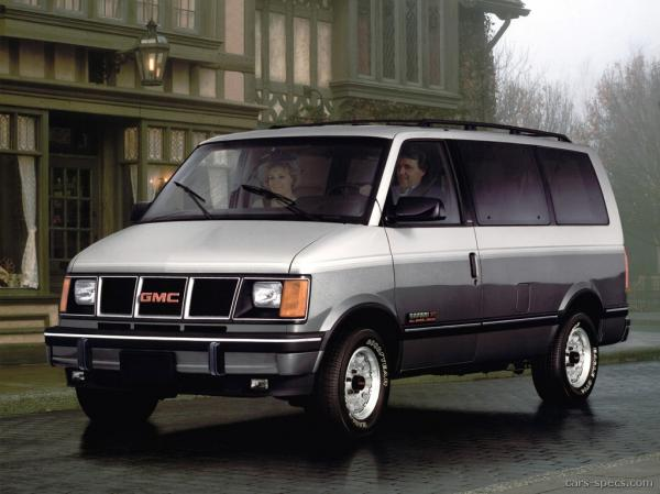 1993 GMC Safari Cargo #1