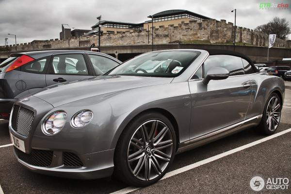 2010 Bentley Continental GTC Speed #1