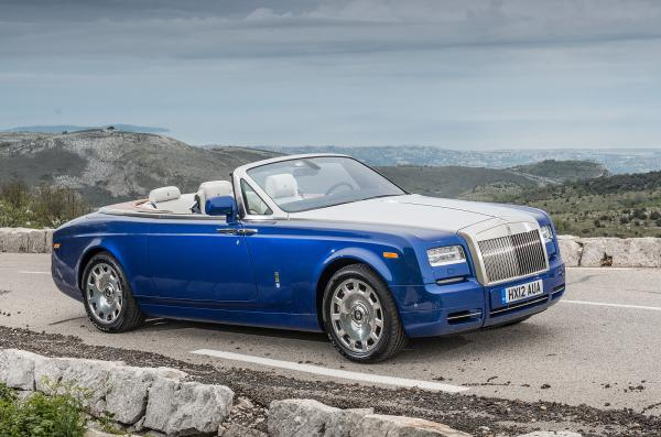2012 Rolls-Royce Phantom Coupe #1