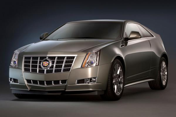 2012 Cadillac CTS Coupe #1