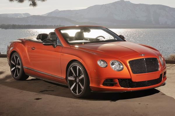 2014 Bentley Continental GT Speed Convertible #1