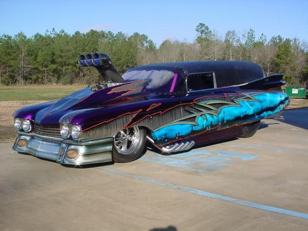 Cadillac Hearse - Making Funerals Happy