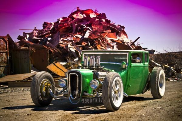 Ford Model T Defies History And Becomes A Rat Rod