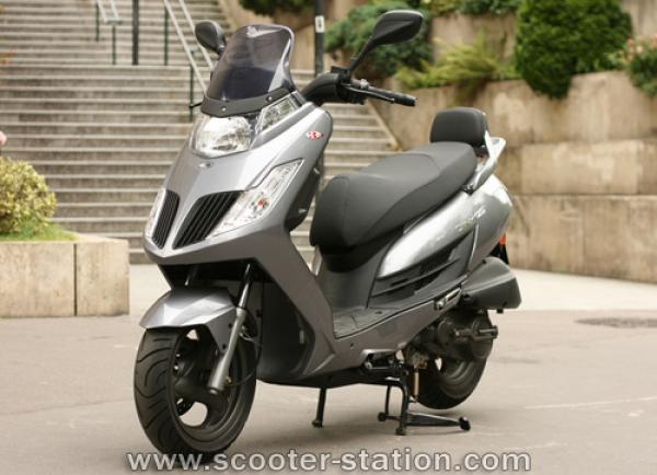 Kymco Dink, the ride that speaks for you
