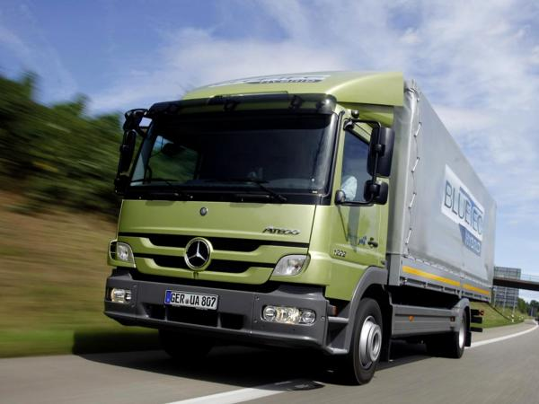 The immeasurable power of mercedes-benz Atego