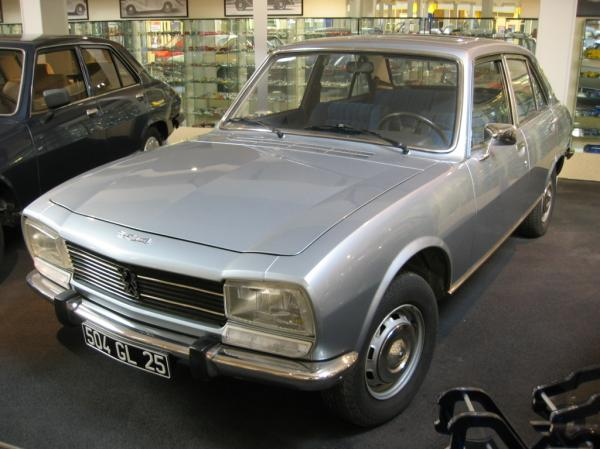 Peugeot 504, or What Nuns Drive!