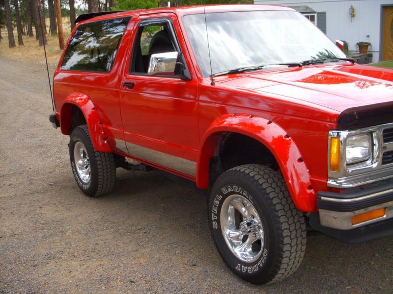 1991 Chevrolet S 10 Blazer Information And Photos Zombiedrive