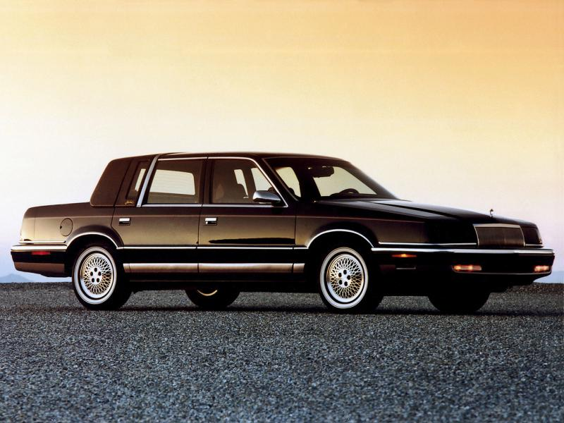 1993 chrysler new yorker information and photos for 1993 chrysler new yorker salon sedan