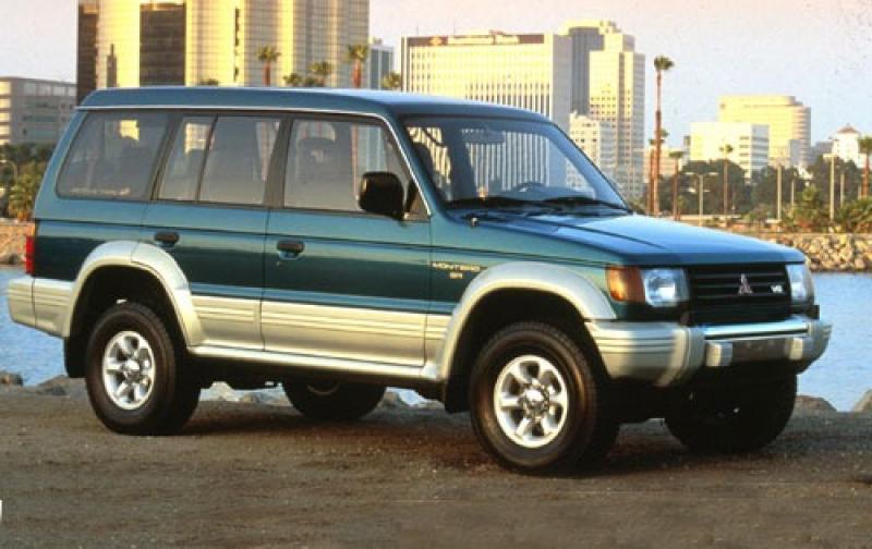 1995 Mitsubishi Montero #1 800 1024 ...