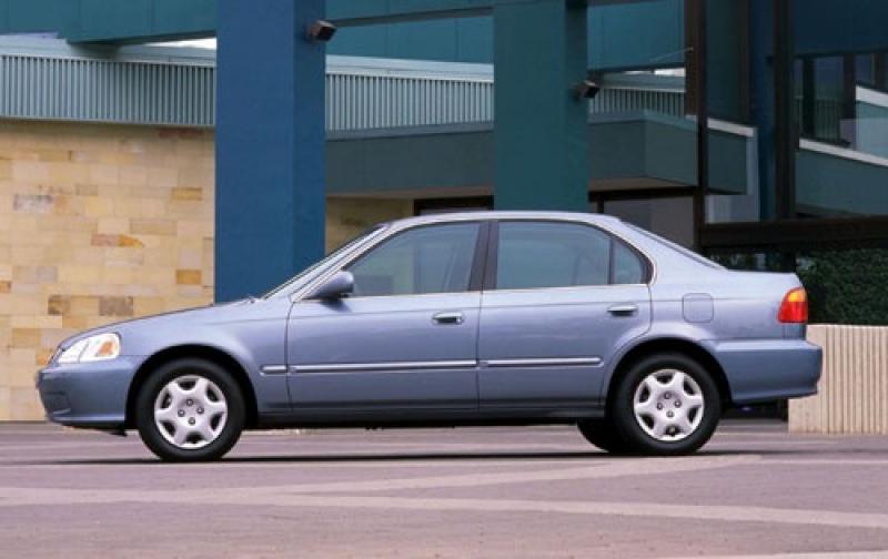 ... 2000 Honda Civic 2 Dr EX Exterior #5 800 1024 ...