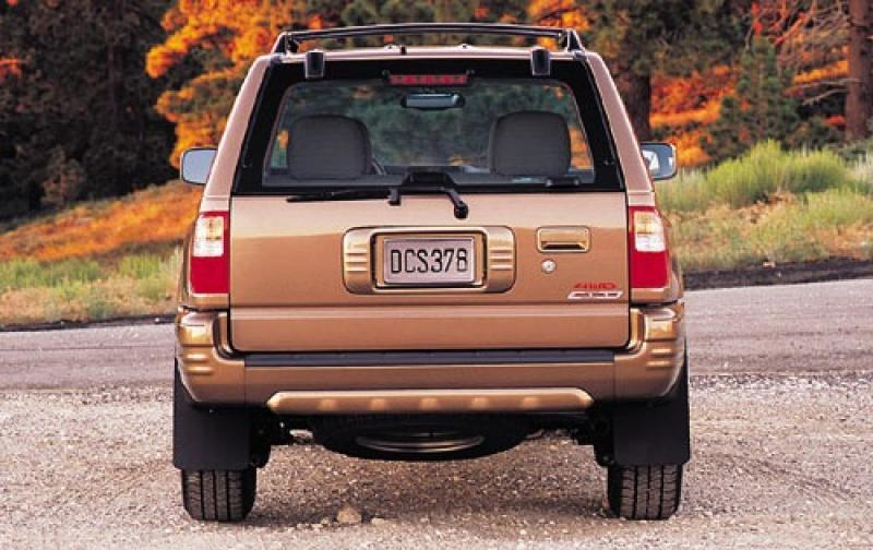 2003 isuzu rodeo information and photos zombiedrive. Black Bedroom Furniture Sets. Home Design Ideas
