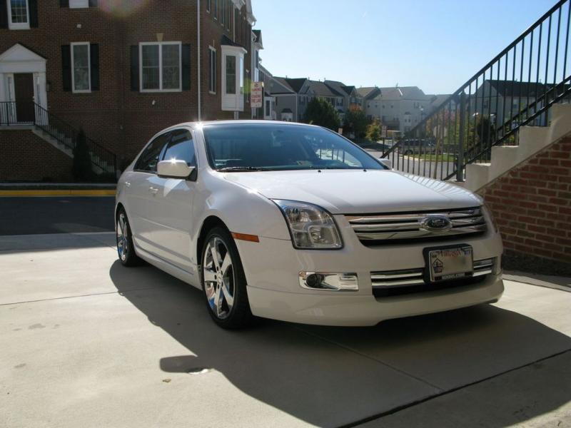 2007 ford fusion information and photos zombiedrive. Black Bedroom Furniture Sets. Home Design Ideas