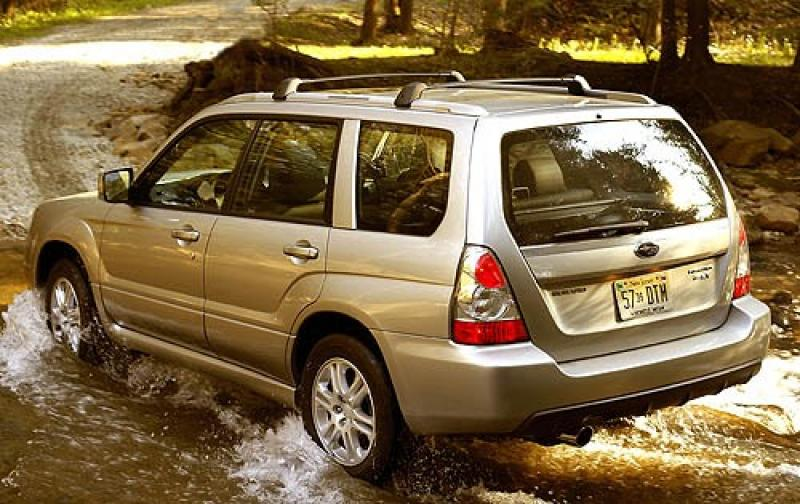 2007 subaru forester information and photos zombiedrive. Black Bedroom Furniture Sets. Home Design Ideas